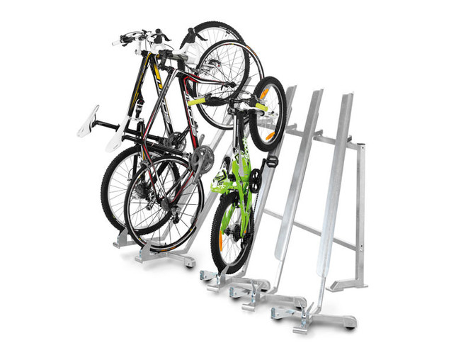Bicycle parker - ensures tidiness and more space