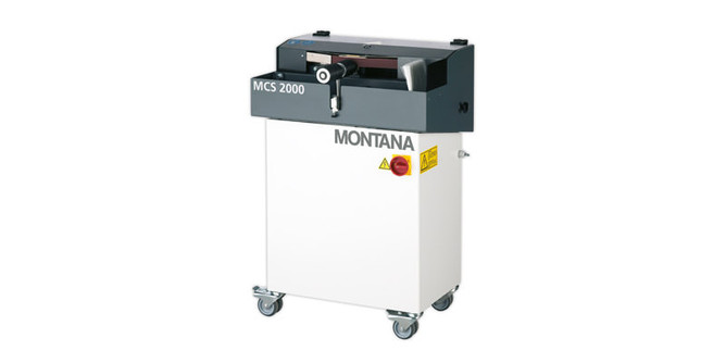 MCS - the compact side edge grinding machine