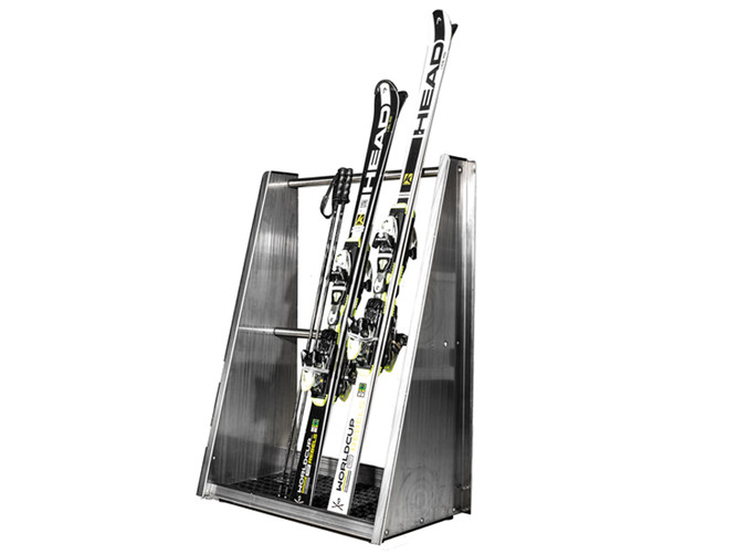 MONTANA Presentation Rack - the presentation rack for skis and snowboards