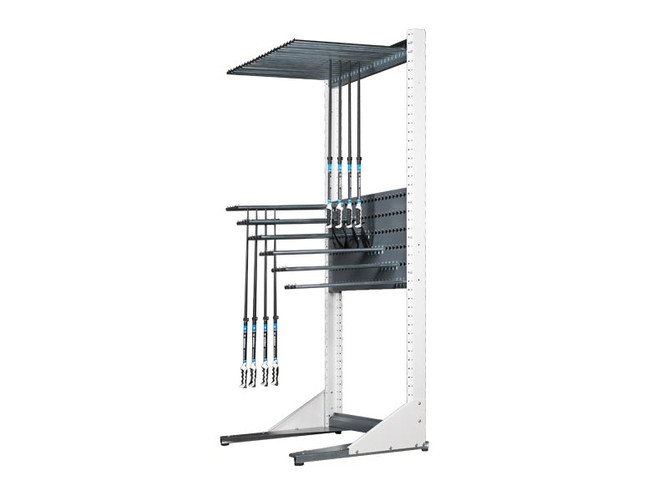 MONTANA Pole Rack Wall - the flexible wall rack for the storage of ski and cross-country poles