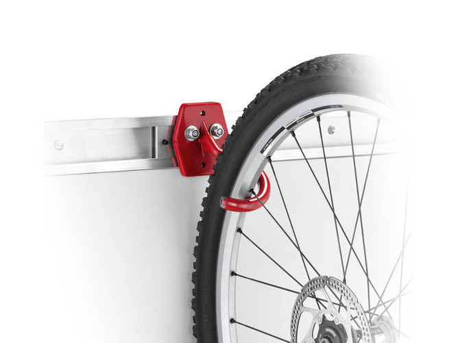 MONTANA Bicycle hook with rim protection - for more tidiness and space
